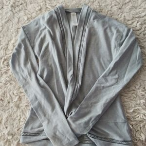 Ivivva Wrap Top size 8